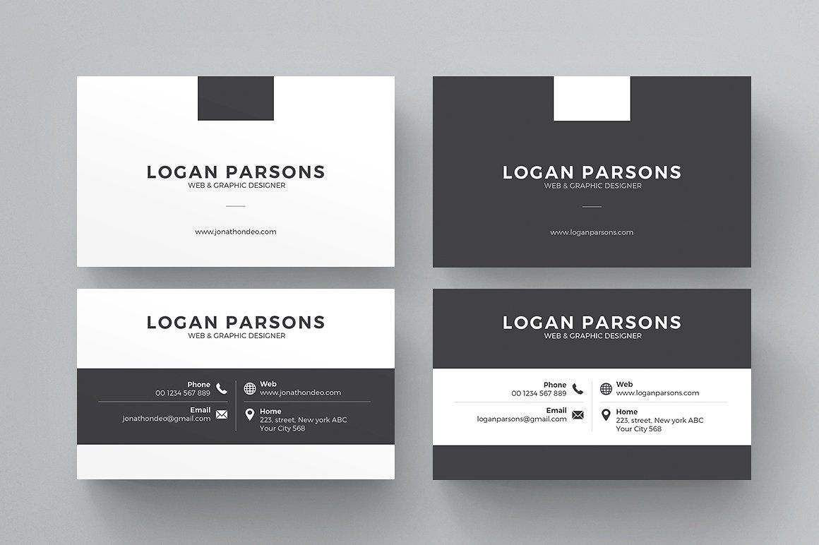 Business Card | Business cards, Personal identity and Photoshop ...