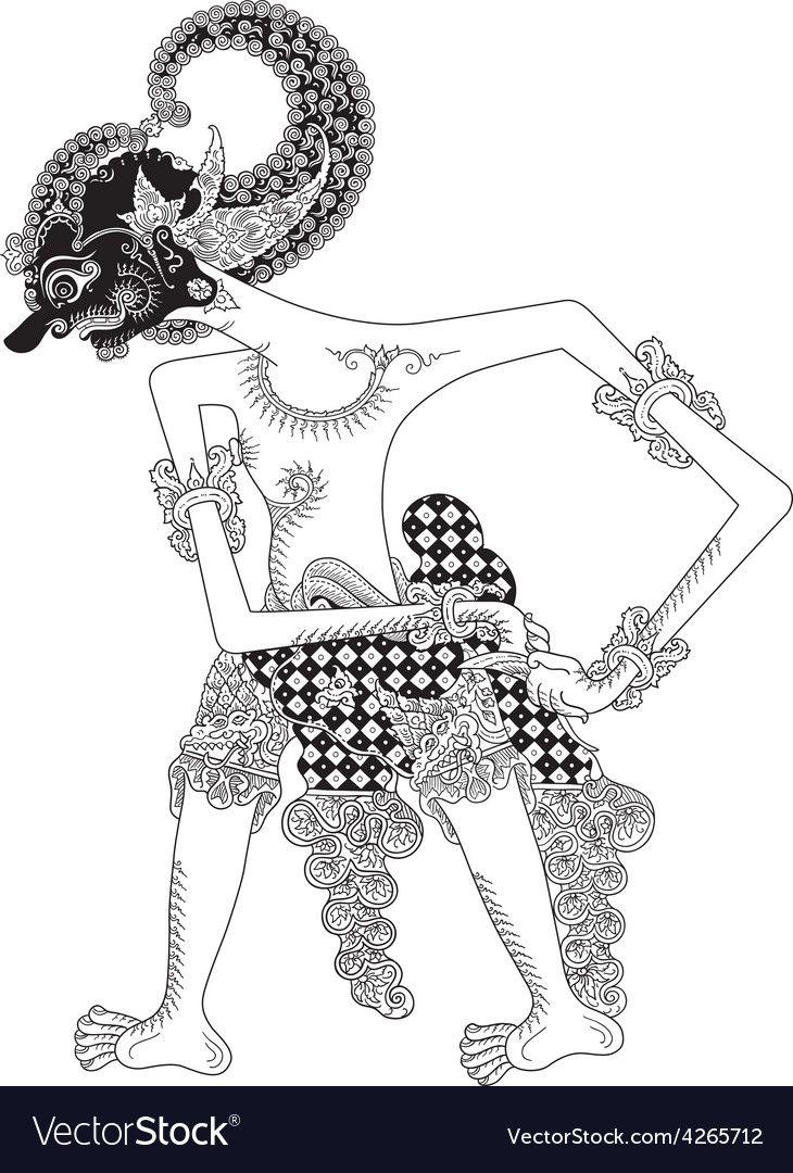 60 Best Wayang Vector Images Shadow Puppets Vector Art