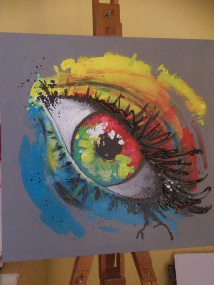 Peinture acrylique \
