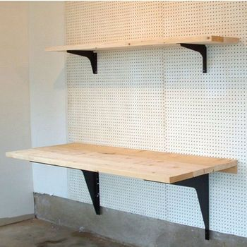 Shelving Application 2 Wall Mounted Table Workstation Home Decor
