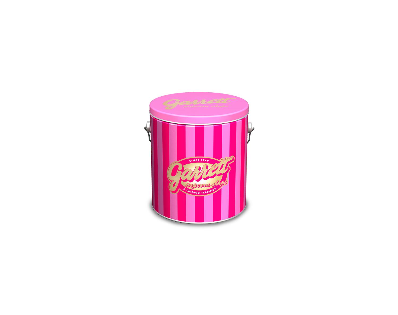 1 Gallon Garrett Signature Pink | Garrett Popcorn Tins | Pinterest ...