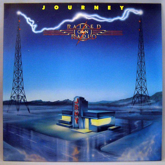 Journey Japan 12 33rpm Lp Record Raised On Radio Journey Albums Journey Band Journey