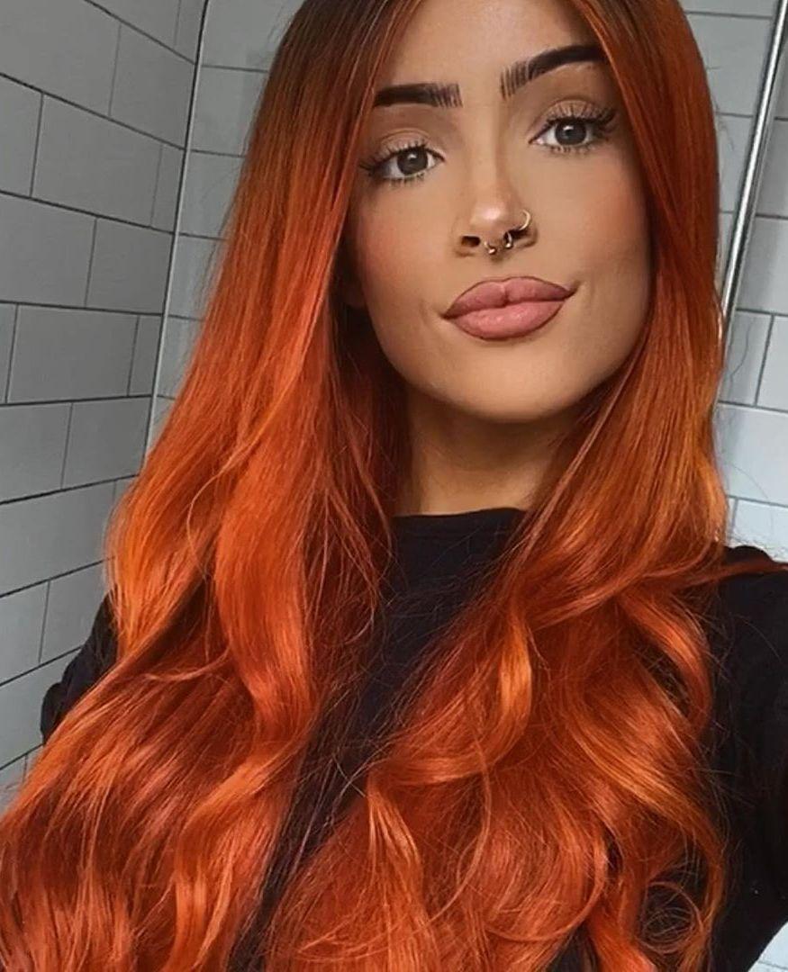 Ginger Spice Arctic Fox Hair In 2020 Red Hair Woman Short Grunge Hair Hair Streaks