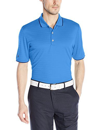 adidas Golf Men's Climacool Tipped Club Polo Shirt