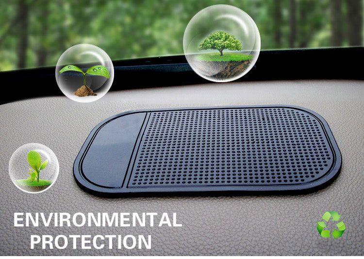 2017 Automobiles Accessori Interni per mp3mp4 Cellulare Pad GPS Gel Di Silice Anti Slip Auto Sticky Anti-Slip Mat Car Styling