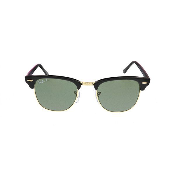 7f9d5dc485c Ray-Ban RB3016 Clubmaster Polarized 901 58 Black - Unisex Prescription  Sunglasses for men