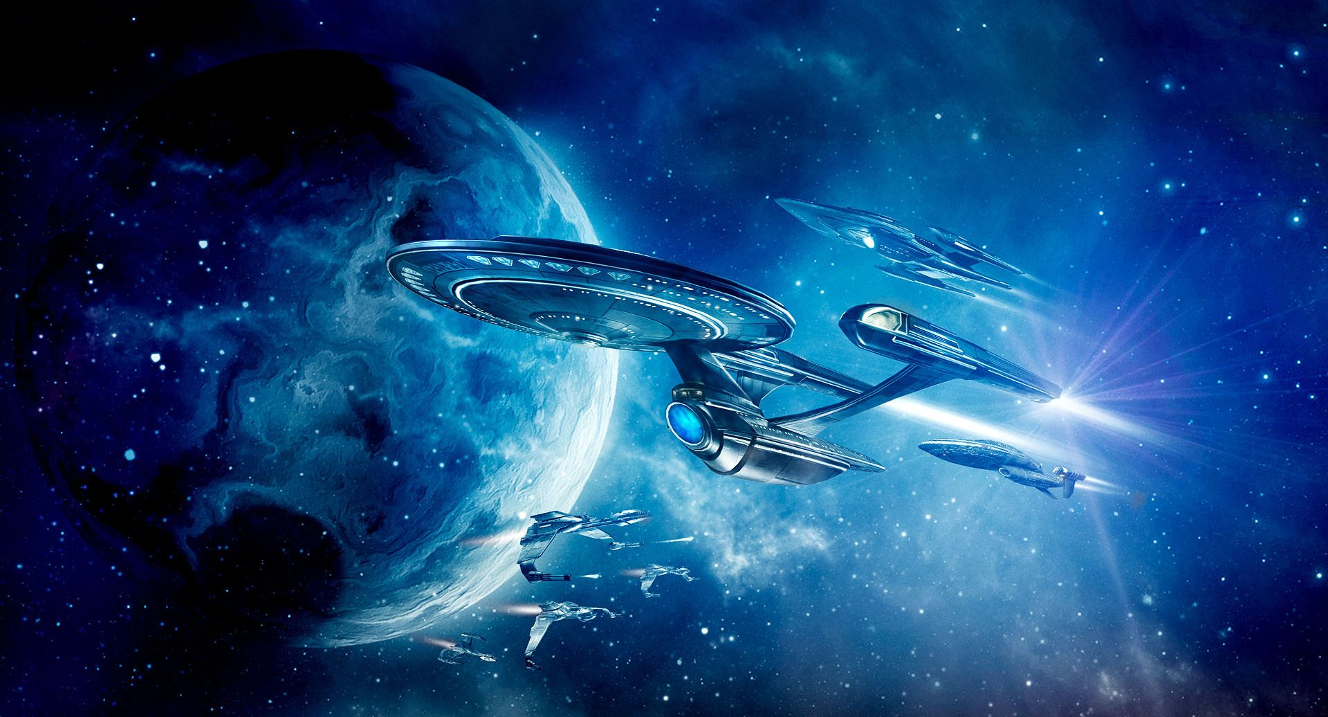 Star Trek Online HD Wallpapers and Backgrounds Нло