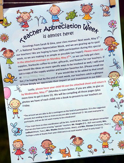 How To Rock Teacher Appreciation Week Part 1 With Images