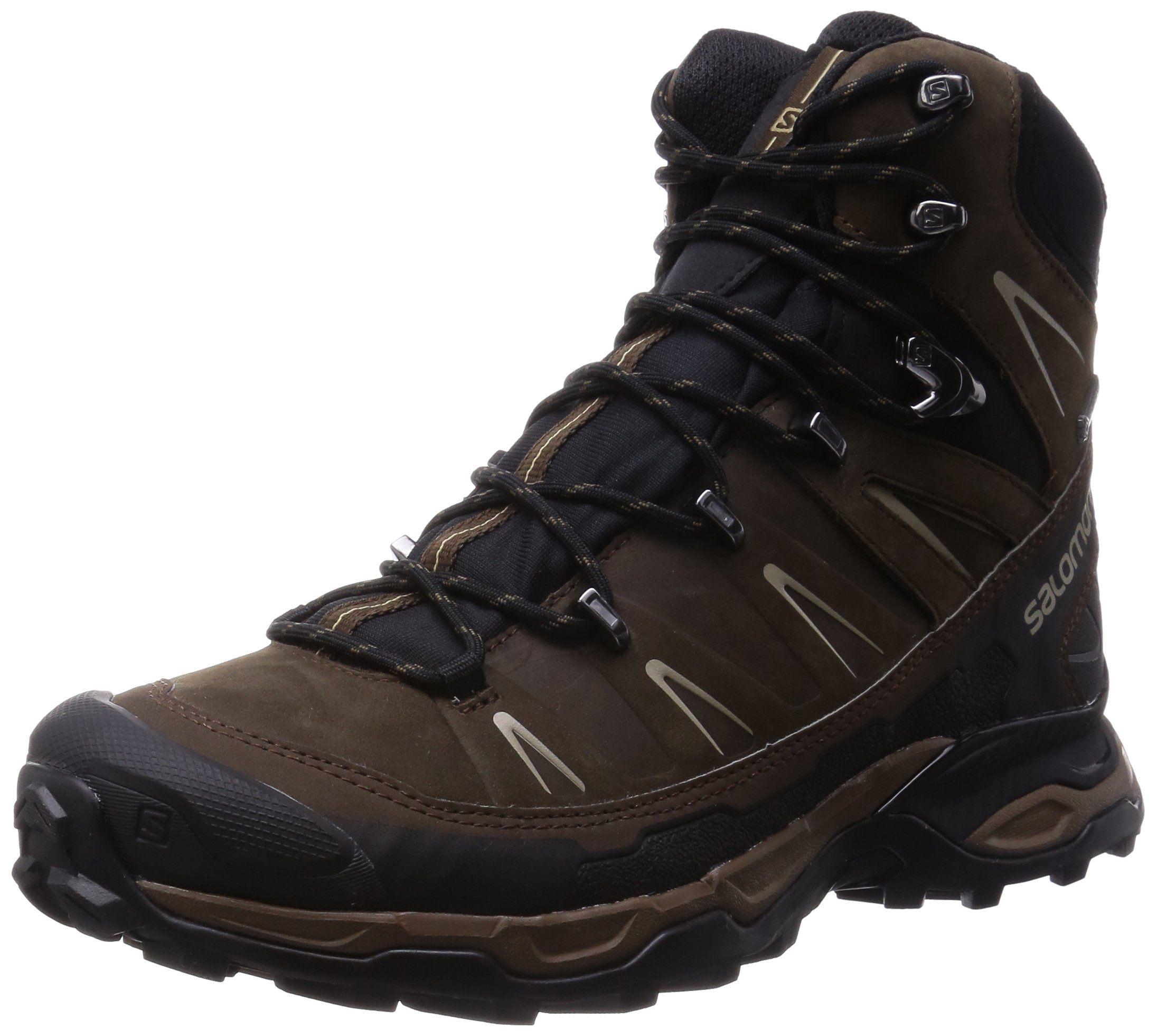Salomon Men's X Ultra Trek Gtx Backpacking Boot,Absolute Brown/Black/Navajo,