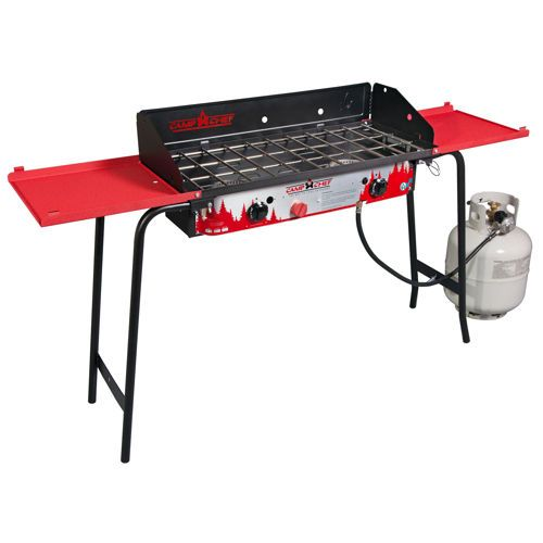 Camp Chef Deluxe Double Burner Stove  Costco $179 99   THE
