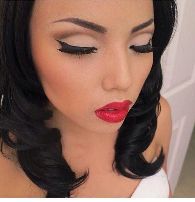 Hollywood Glam https://www.makeupbee.com/look.php?look_id ...   Hollywood Glam Eye Makeup