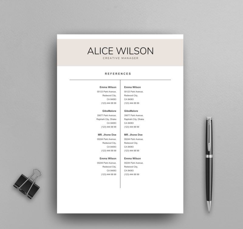 Great resume google docs template gallery professional