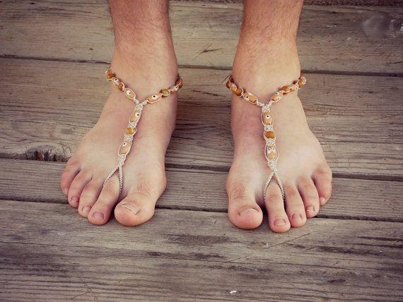 Soleless Shoes Men