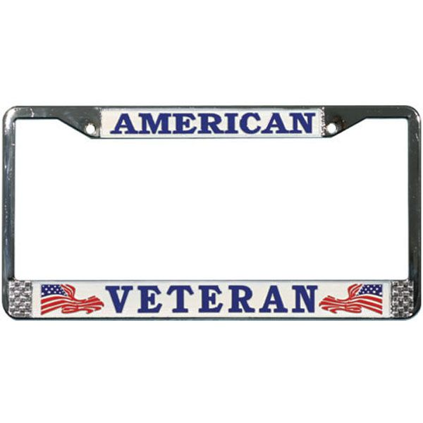 american veteran license plate frame see all the plates and frames at http - Military License Plate Frames