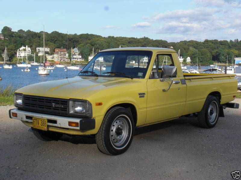 1982 Toyota Truck >> 1982 Toyota Pickup Toyota Trucks Toyota Hilux Japanese Cars