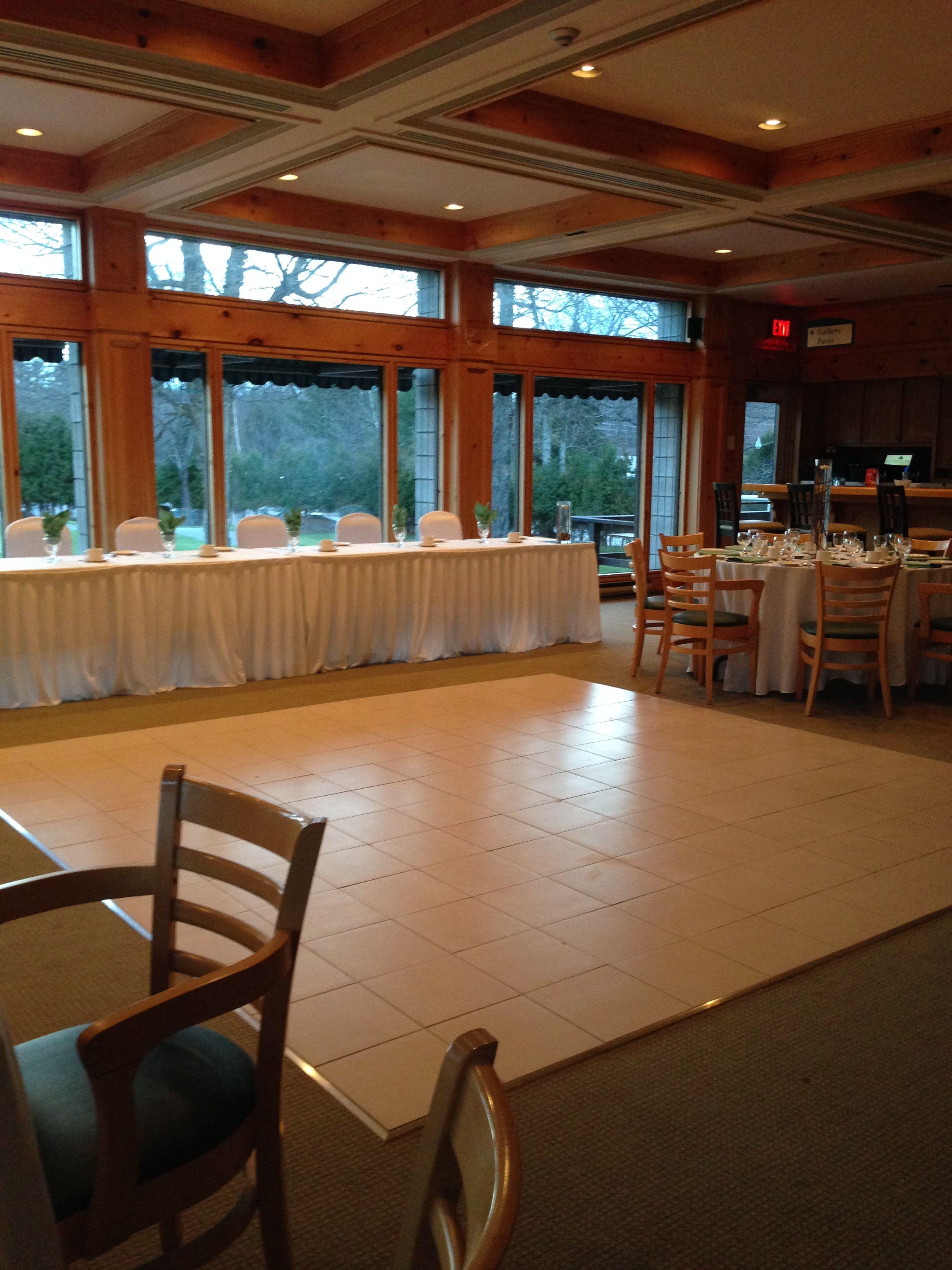 Gallery Head Table and Dance Floor ! Outdoor structures
