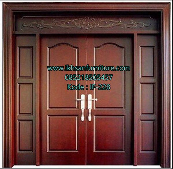 Jual Pintu Rumah Modern Mewah Terbaru Desain Pintu Rumah ...
