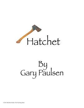 Hatchet Novel Study Book Unit Printable and for Google