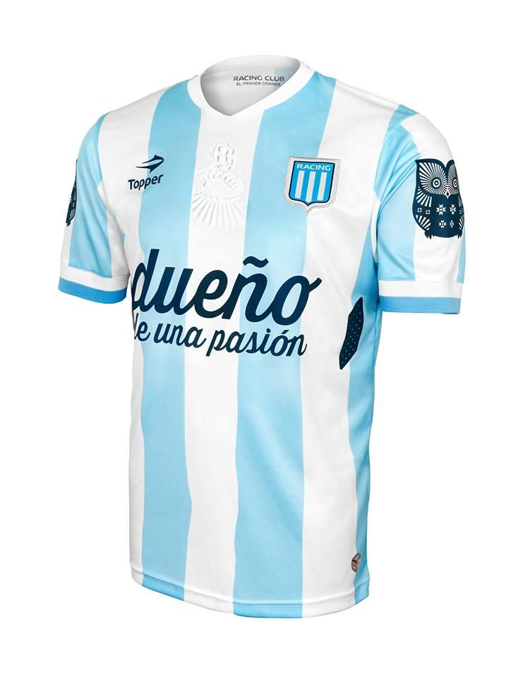 Camiseta Racing Club Topper 2014. Camisa Topper Racing I 14 15 753c3b7c12a9e