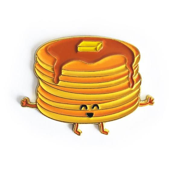 Stacks Breakfast Syrup Butter Cute