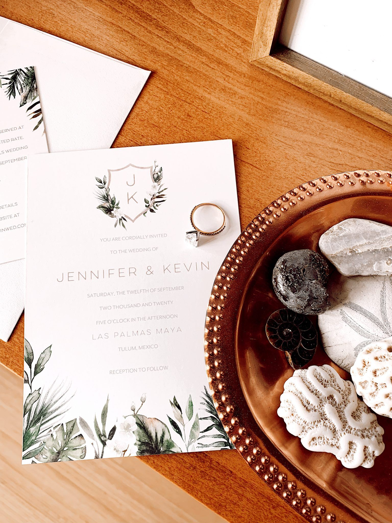 MY WEDDING INVITATIONS WITH THE WEDDING SHOP BY SHUTTERFLY