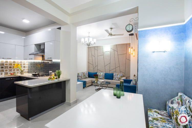 Budget Interior Designers Tour This Playful Home In Noida Interior Designers Interior Elegant Kitchens
