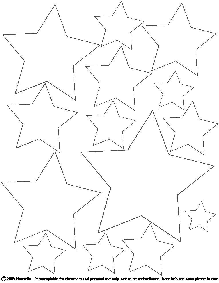 Free Coloring Pages Stars