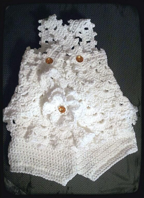 WRaP Me iN LaCE Baby Girl Outfit Pattern | Crochet: Baby Pants ...