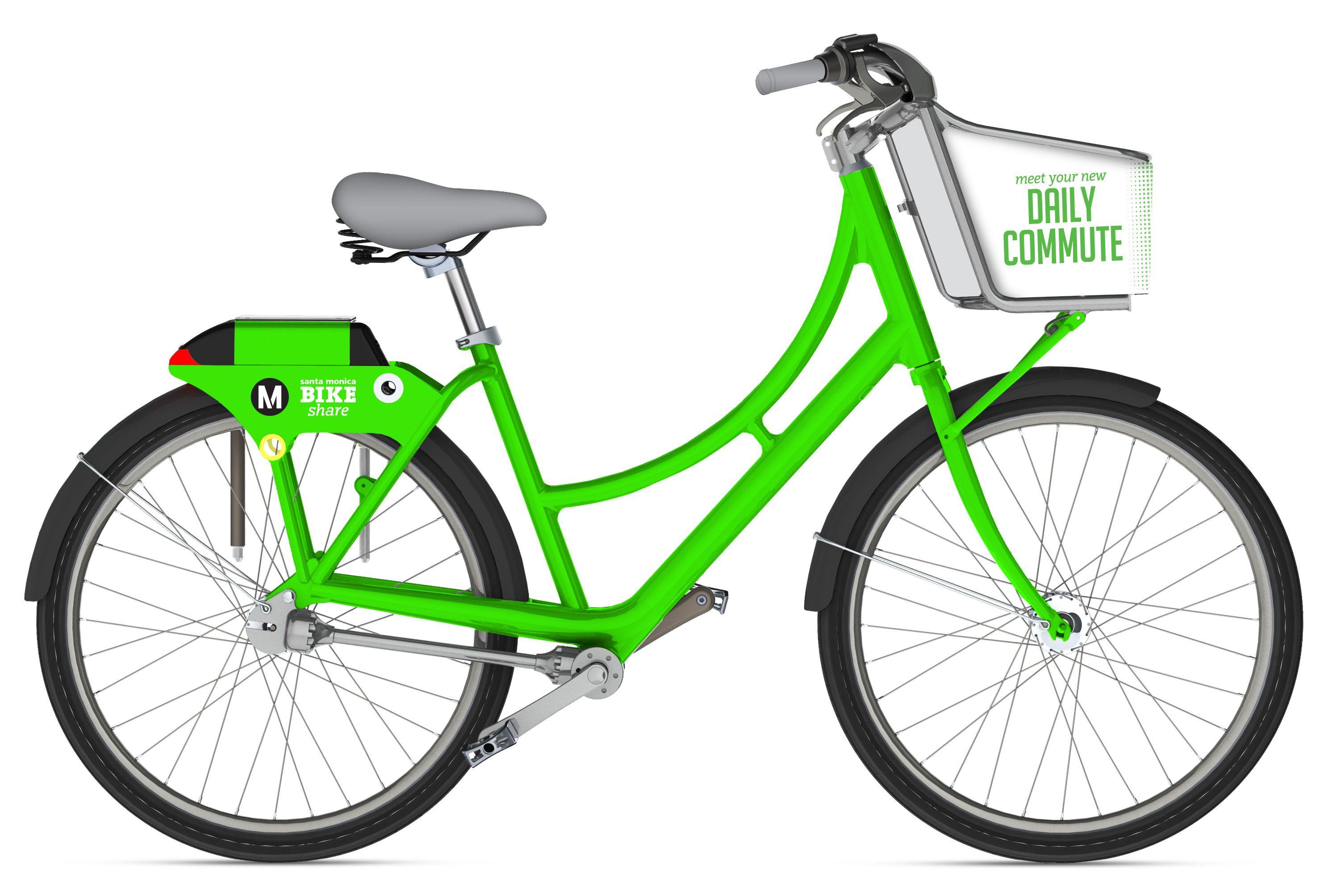 Bike share coming to santa monica bike share bike
