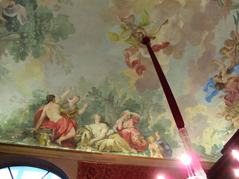Museo di Casa Martelli - Firenze - Cappella - soffitto - Vincenzo Meucci - Ratto di Proserpina