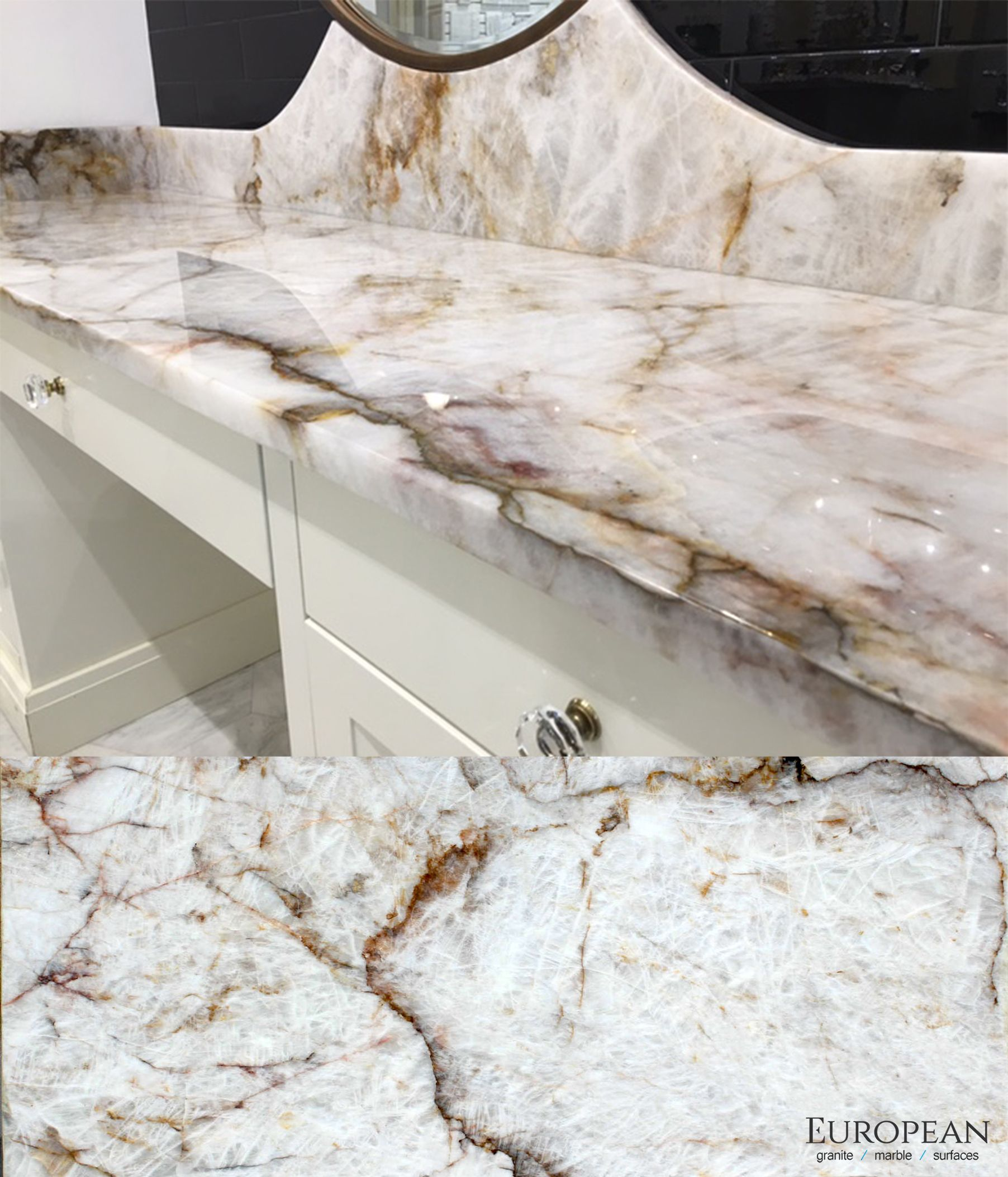 Is quartz considered a natural stone -  Crystalline Landscape Of Quartz Deposits And Sparkling Specks Of Crystal With Its Soft Color Pallet And Marble Like Veining This Natural Stone Brings