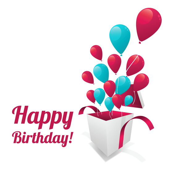 Happy Birthday Text Sticker PNG Clipart Picture | ClipArt ...