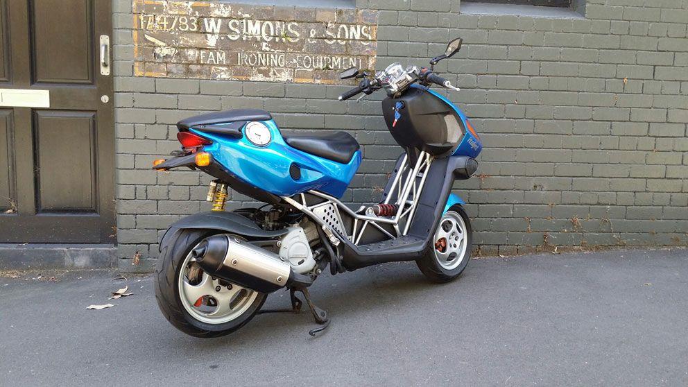 2001 ITALJET DRAGSTER 180CC