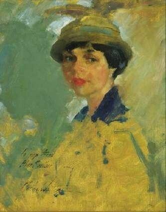 Martha Walter (American Impressionist, 1875–1976) Portrait