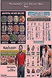High protein low carb meal prep diet plan for men  mediterraneandiet