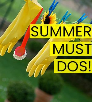 Photo of Summer Home Maintenance Must Dos • Queen Bee of Honey Dos