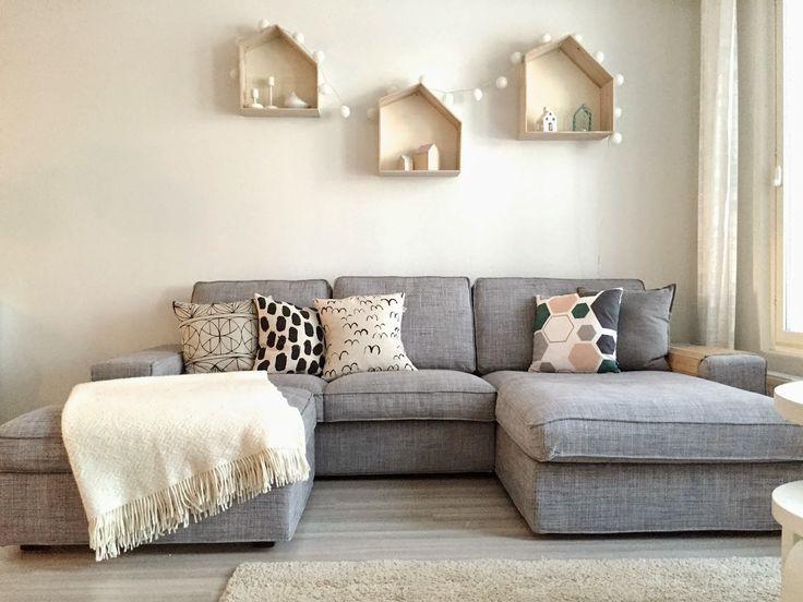 Bildergebnis für ikea woonkamer kivik | Home At Last | Pinterest ...