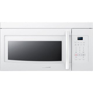 Samsung Stainless Steel 1 6 Cubic Foot Over The Range Microwave
