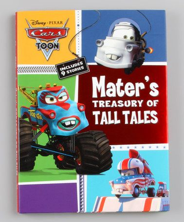 Take A Look At This Cars Toons Mater S Treasury Of Tall