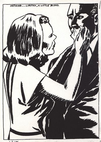 Raymond pettibon express sex train