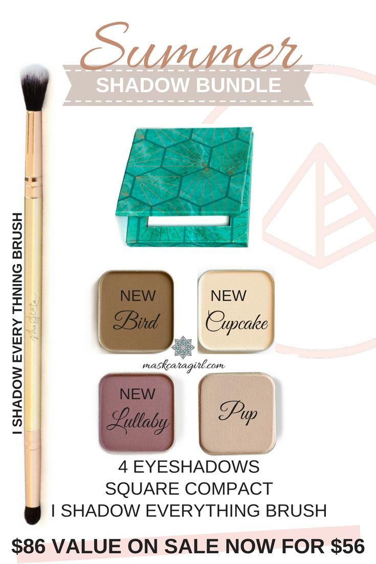 Get all three of Maskcara's newest eyeshadow shades