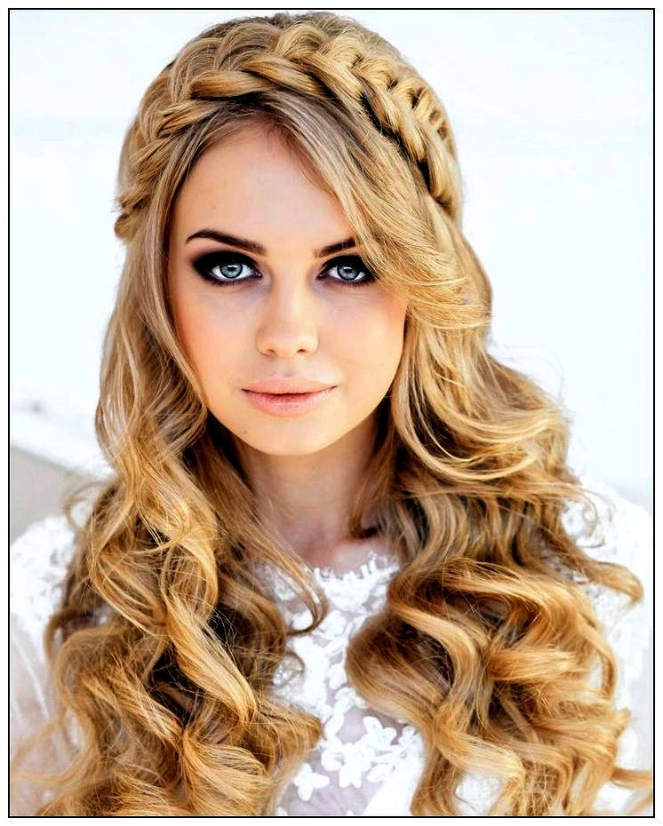 Peinados s per f ciles para el pelo mujeres femeninas - Peinados de fiesta cabello largo ...