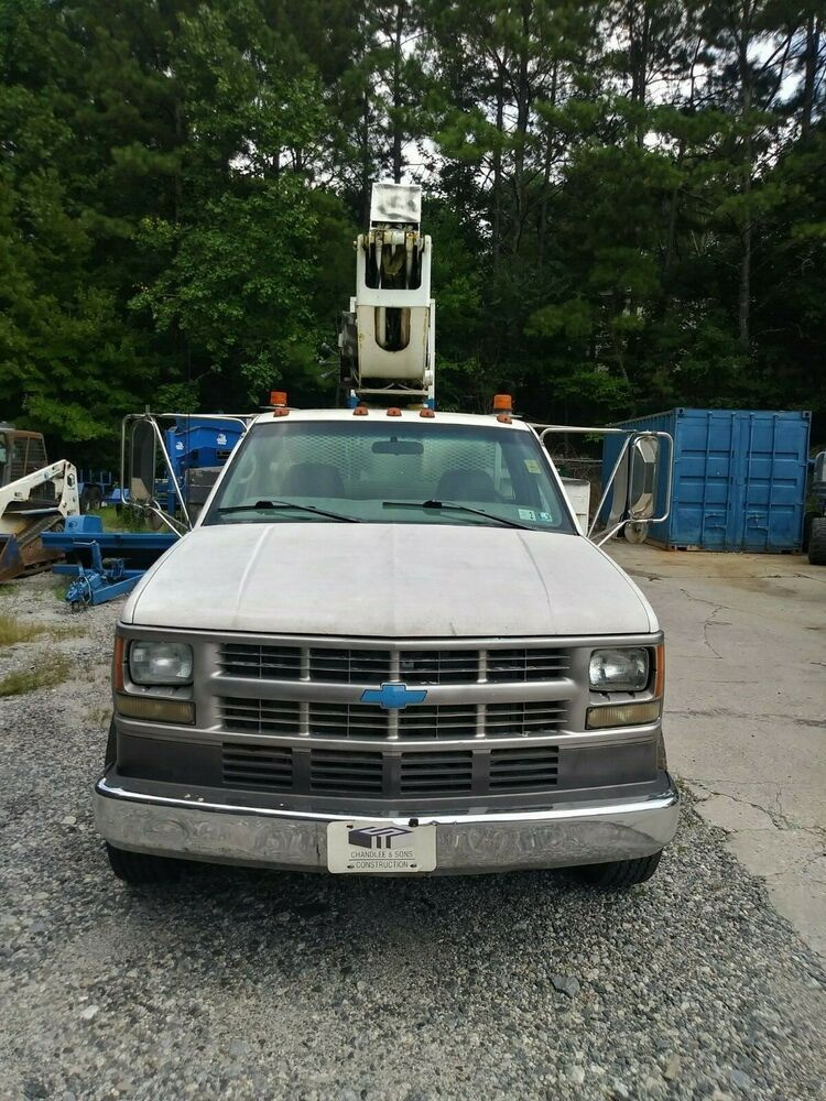 1999 Chevrolet C/K Pickup 3500 Bucket truck, Chevrolet