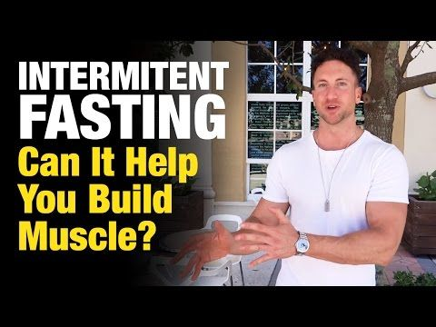 Can you build muscle and lose fat with intermittent fasting
