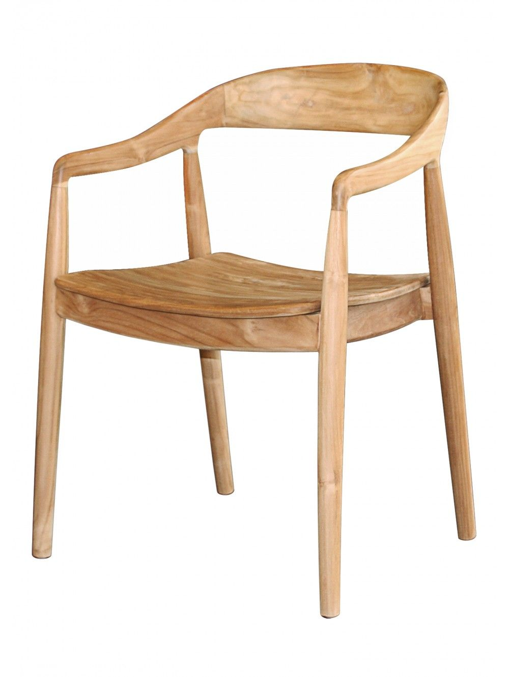 Ida Chair Natural With Images Teak Dining Chairs Furniture