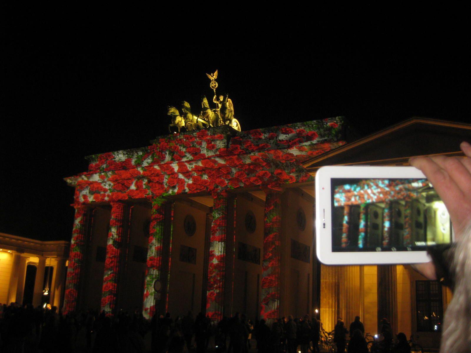 Berlin Brandenburgertor Festivaloflights Brandenburger Tor