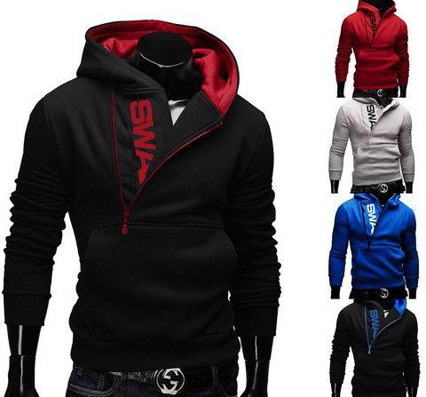 be72bf40849 ... colors sports male Jogging sweatshirt Men Running Zipper coat LB. SWAG Zipper  Hoodie – eDealRetail