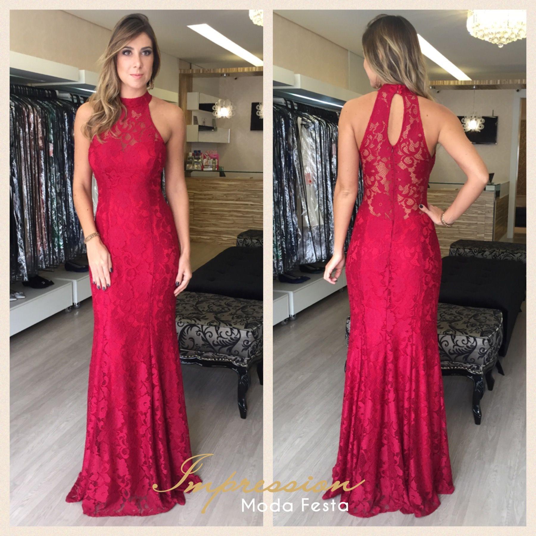 que sapato usar com vestido vermelho