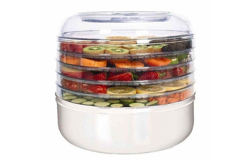 presto food dehydrator temperature