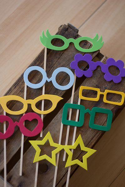 8 Brillen Photobooth Hochzeit Fotoshootings Faschingsdeko Basteln Faschingsbrille Basteln Fasching Basteln Mit Kindern